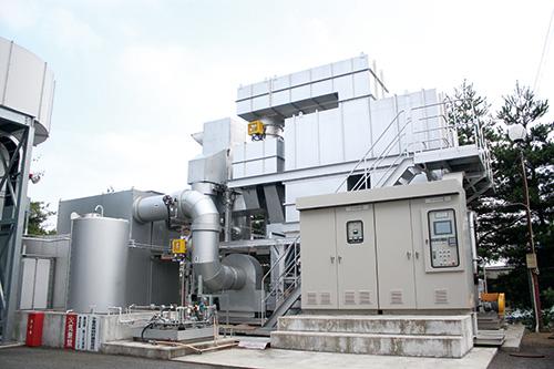 濃縮・蓄熱式VOC燃焼装置
